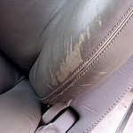 How to repair scuffs in leather
