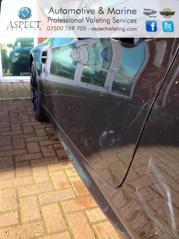 Aspect Valeting Before Detailing