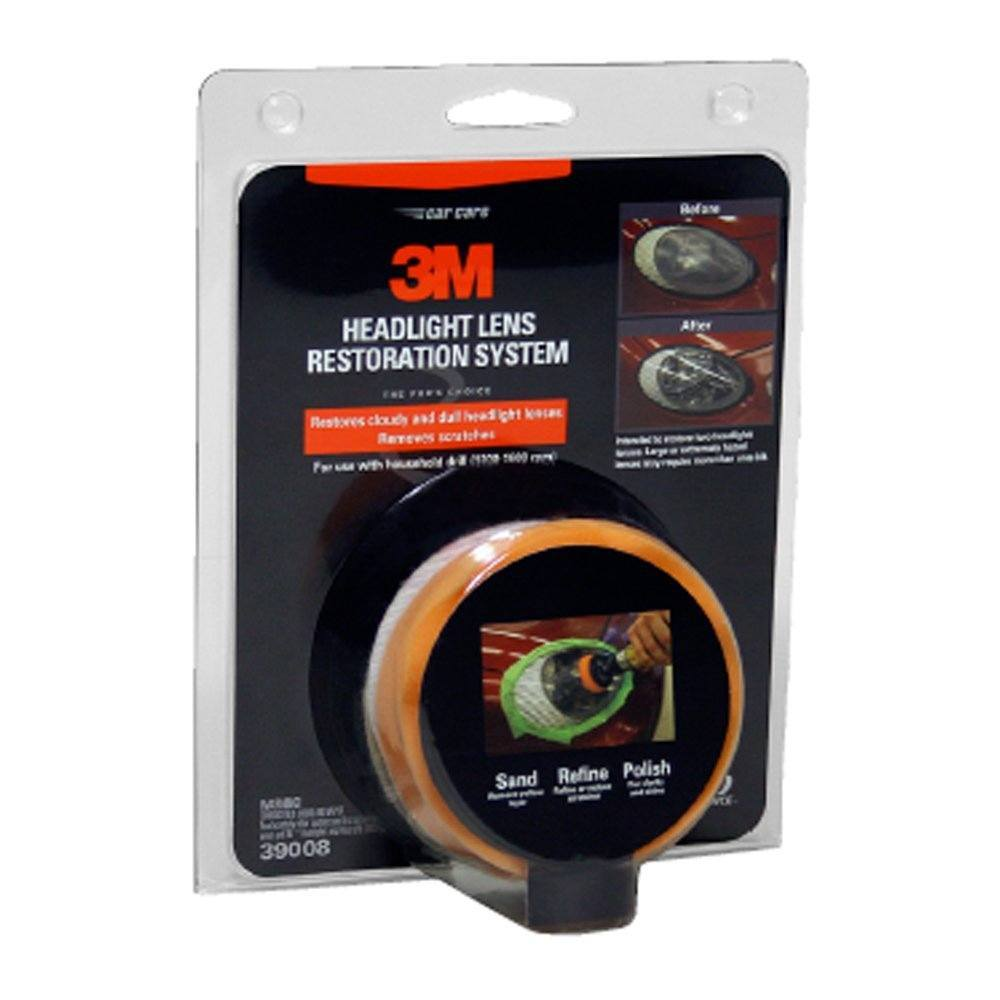 3M Car Headlight Restoration System