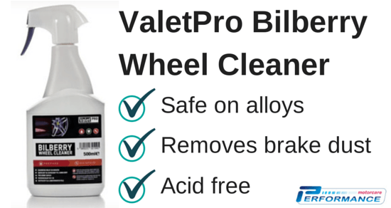 Valet Pro Bilberry Wheel Cleaner For Alloy Wheels