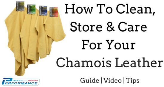 How To Clean, Store & Care For Chamois Leathers