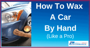 How To Wax A Car By Hand