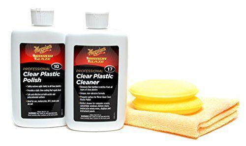 Meguiars 2 Step Plastic Polish & Cleaner